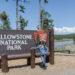 4 Tage Yellowstone Nationalpark Eingangsschild